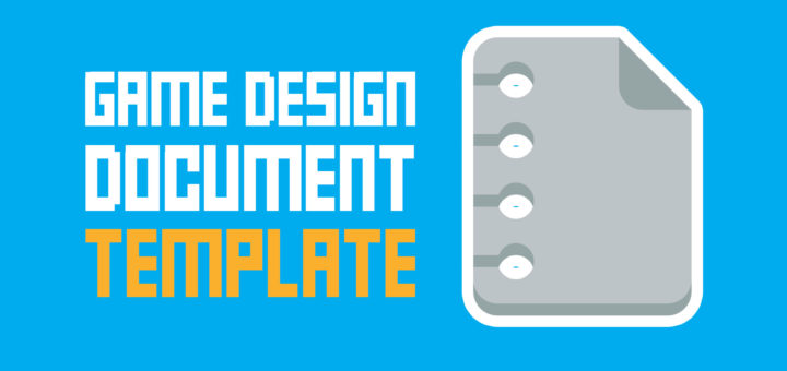 Game Design Document Template One Page Super Easy The Indie - It design document template